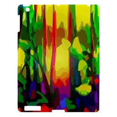 Abstract Vibrant Colour Botany Apple Ipad 3/4 Hardshell Case by Nexatart
