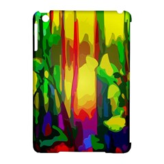 Abstract Vibrant Colour Botany Apple Ipad Mini Hardshell Case (compatible With Smart Cover) by Nexatart