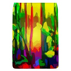 Abstract Vibrant Colour Botany Flap Covers (s)  by Nexatart