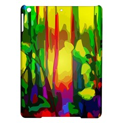 Abstract Vibrant Colour Botany Ipad Air Hardshell Cases