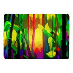 Abstract Vibrant Colour Botany Samsung Galaxy Tab Pro 10 1  Flip Case