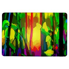 Abstract Vibrant Colour Botany Ipad Air Flip by Nexatart