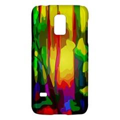 Abstract Vibrant Colour Botany Galaxy S5 Mini