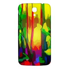 Abstract Vibrant Colour Botany Samsung Galaxy Mega I9200 Hardshell Back Case by Nexatart