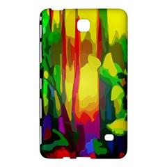 Abstract Vibrant Colour Botany Samsung Galaxy Tab 4 (7 ) Hardshell Case