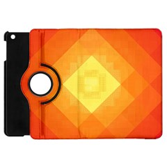 Pattern Retired Background Orange Apple Ipad Mini Flip 360 Case by Nexatart