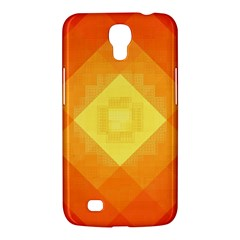 Pattern Retired Background Orange Samsung Galaxy Mega 6 3  I9200 Hardshell Case by Nexatart