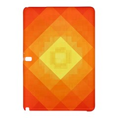 Pattern Retired Background Orange Samsung Galaxy Tab Pro 10 1 Hardshell Case by Nexatart