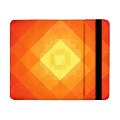 Pattern Retired Background Orange Samsung Galaxy Tab Pro 8 4  Flip Case by Nexatart