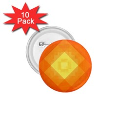 Pattern Retired Background Orange 1 75  Buttons (10 Pack)