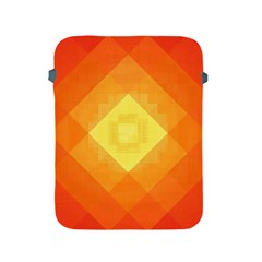 Pattern Retired Background Orange Apple Ipad 2/3/4 Protective Soft Cases by Nexatart