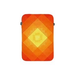 Pattern Retired Background Orange Apple Ipad Mini Protective Soft Cases