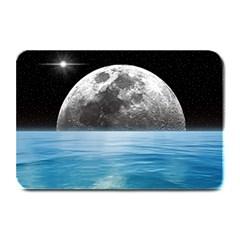 Moon Ocean Table Mat by LoolyElzayat