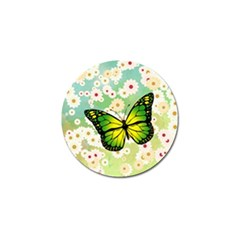 Green Butterfly Golf Ball Marker (10 Pack) by linceazul