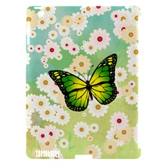 Green Butterfly Apple Ipad 3/4 Hardshell Case (compatible With Smart Cover) by linceazul