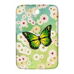 Green Butterfly Samsung Galaxy Note 8 0 N5100 Hardshell Case  by linceazul