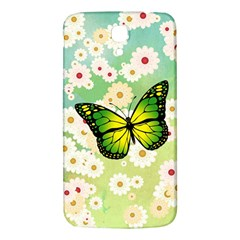 Green Butterfly Samsung Galaxy Mega I9200 Hardshell Back Case by linceazul
