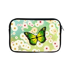 Green Butterfly Apple Macbook Pro 13  Zipper Case