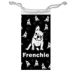 Frenchie Jewelry Bag by Valentinaart