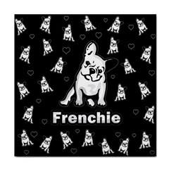 Frenchie Face Towel by Valentinaart