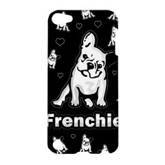Frenchie Apple Ipod Touch 5 Hardshell Case by Valentinaart