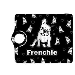 Frenchie Kindle Fire Hdx 8 9  Flip 360 Case by Valentinaart