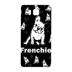Frenchie Samsung Galaxy Alpha Hardshell Back Case by Valentinaart