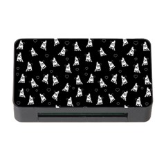 French Bulldog Memory Card Reader With Cf by Valentinaart