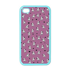 French Bulldog Apple Iphone 4 Case (color) by Valentinaart