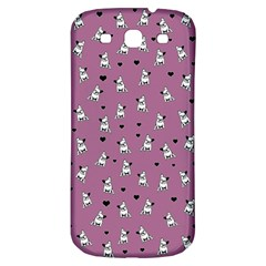 French Bulldog Samsung Galaxy S3 S Iii Classic Hardshell Back Case by Valentinaart