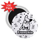 French bulldog 2.25  Magnets (100 pack)  Front