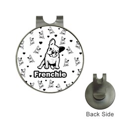 French Bulldog Hat Clips With Golf Markers by Valentinaart
