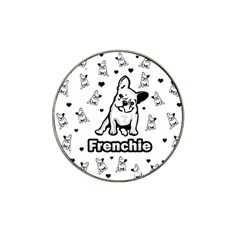 French Bulldog Hat Clip Ball Marker (10 Pack) by Valentinaart