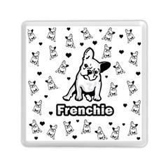 French Bulldog Memory Card Reader (square)  by Valentinaart