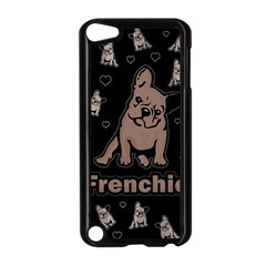 French Bulldog Apple Ipod Touch 5 Case (black) by Valentinaart