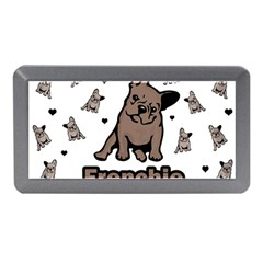 French Bulldog Memory Card Reader (mini) by Valentinaart
