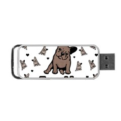 French Bulldog Portable Usb Flash (two Sides) by Valentinaart