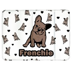 French Bulldog Samsung Galaxy Tab 7  P1000 Flip Case by Valentinaart