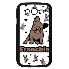 French Bulldog Samsung Galaxy Grand Duos I9082 Case (black) by Valentinaart