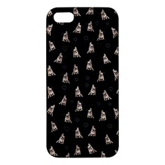 French Bulldog Iphone 5s/ Se Premium Hardshell Case by Valentinaart