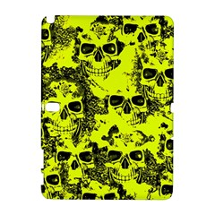 Cloudy Skulls Black Yellow Galaxy Note 1 by MoreColorsinLife