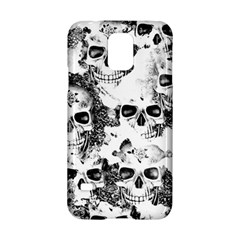 Cloudy Skulls B&w Samsung Galaxy S5 Hardshell Case  by MoreColorsinLife
