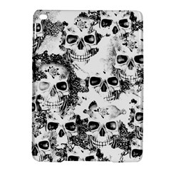 Cloudy Skulls B&w Ipad Air 2 Hardshell Cases by MoreColorsinLife