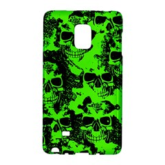 Cloudy Skulls Black Green Galaxy Note Edge by MoreColorsinLife