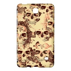 Cloudy Skulls Beige Samsung Galaxy Tab 4 (8 ) Hardshell Case  by MoreColorsinLife