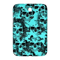 Cloudy Skulls Aqua Samsung Galaxy Note 8 0 N5100 Hardshell Case  by MoreColorsinLife