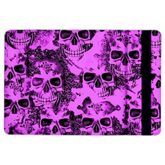 Cloudy Skulls Pink Ipad Air 2 Flip by MoreColorsinLife