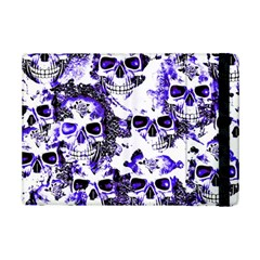 Cloudy Skulls White Blue Ipad Mini 2 Flip Cases by MoreColorsinLife