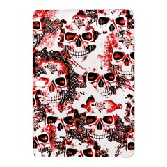 Cloudy Skulls White Red Samsung Galaxy Tab Pro 10 1 Hardshell Case by MoreColorsinLife