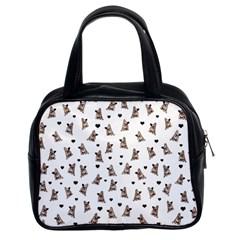 French Bulldog Classic Handbags (2 Sides) by Valentinaart